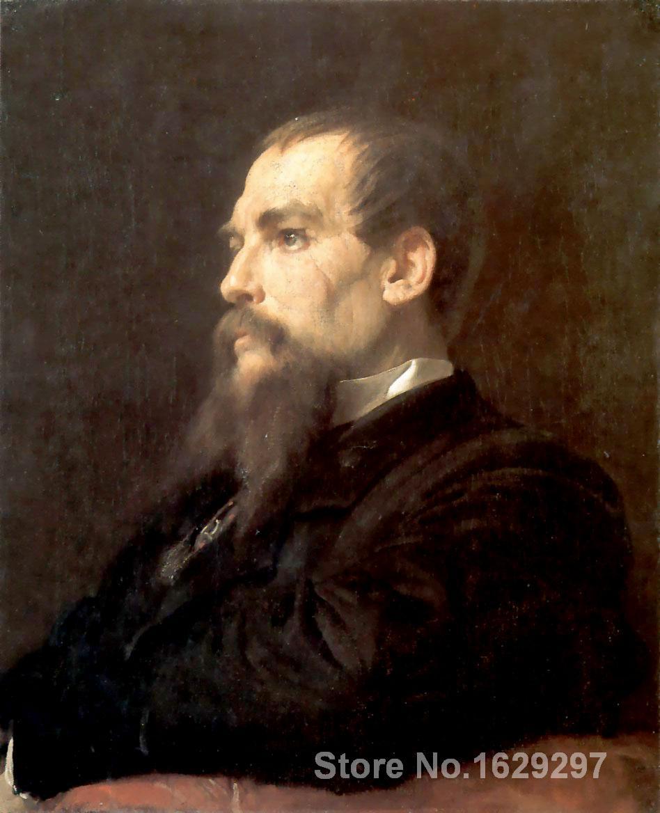 Richard Burton peint par Frederic Leighton par Frederic Leighton toile art peinture de haute qualité peint à la main