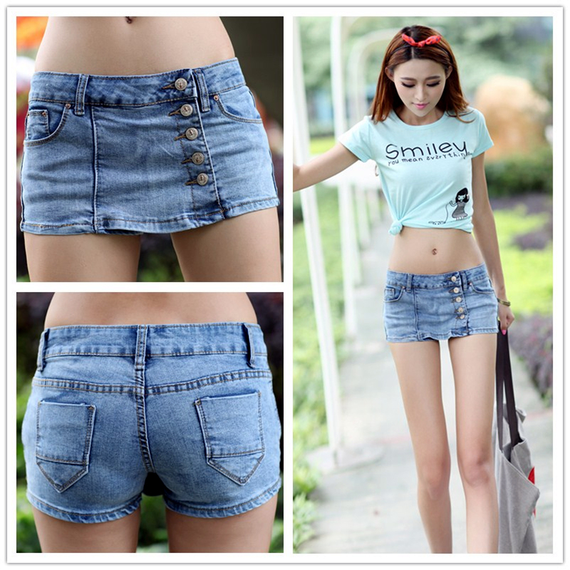 2014 New Summer Korean Skinny Jeans Cowgirl Culottes Fashion All Match Model Making In Jeans
