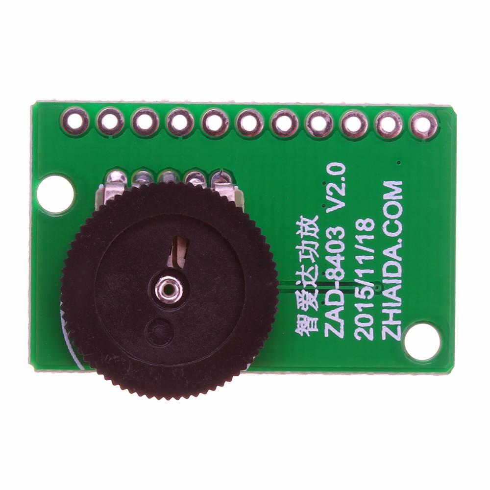 LEORY PAM8403 Dual Channel Power Stereo Amplifier Board DC5V 3W Digital Amplifier Module  For Speaker