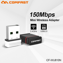 COMFAST 150Mbps MINI Wireless USB WiFi Adapter 2dBi Antenna Dongle 2.4GHz Network LAN Card 802.11b/g/n PC Receiver For MAC Linux