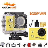 Goldfox 1080P Wifi Action Camera 2 0 170D Underwater 30M Waterproof Sports DV Go Diving Pro