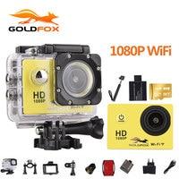 Goldfox 1080P Wifi Action Camera 2.0 170D Underwater 30M Waterproof Sports DV go Diving pro cam Bike Helmet Cam Mini Camcorder
