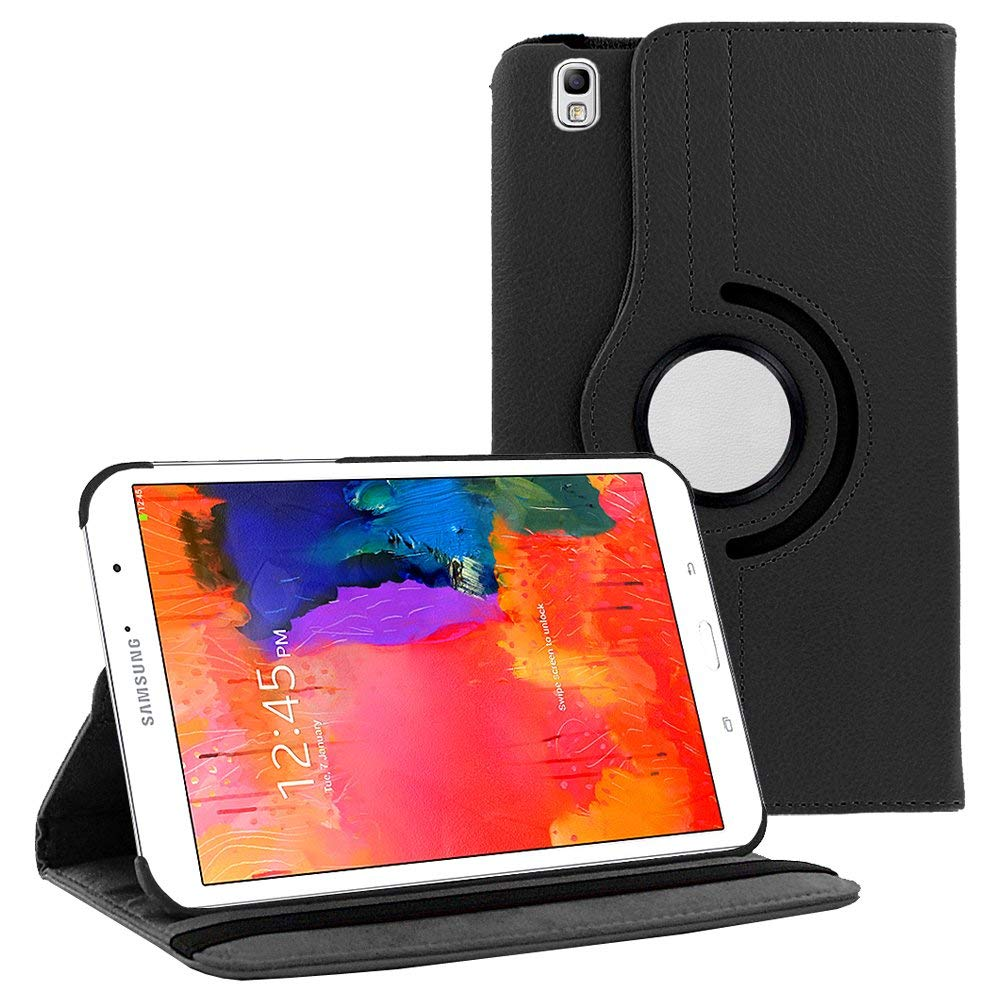 Flip Stand Case For Samsung Galaxy Tab Pro 8.4 inch T320 T321 Tablet 360 Degree Rotating Stand PU Leather Cover Case Protective image