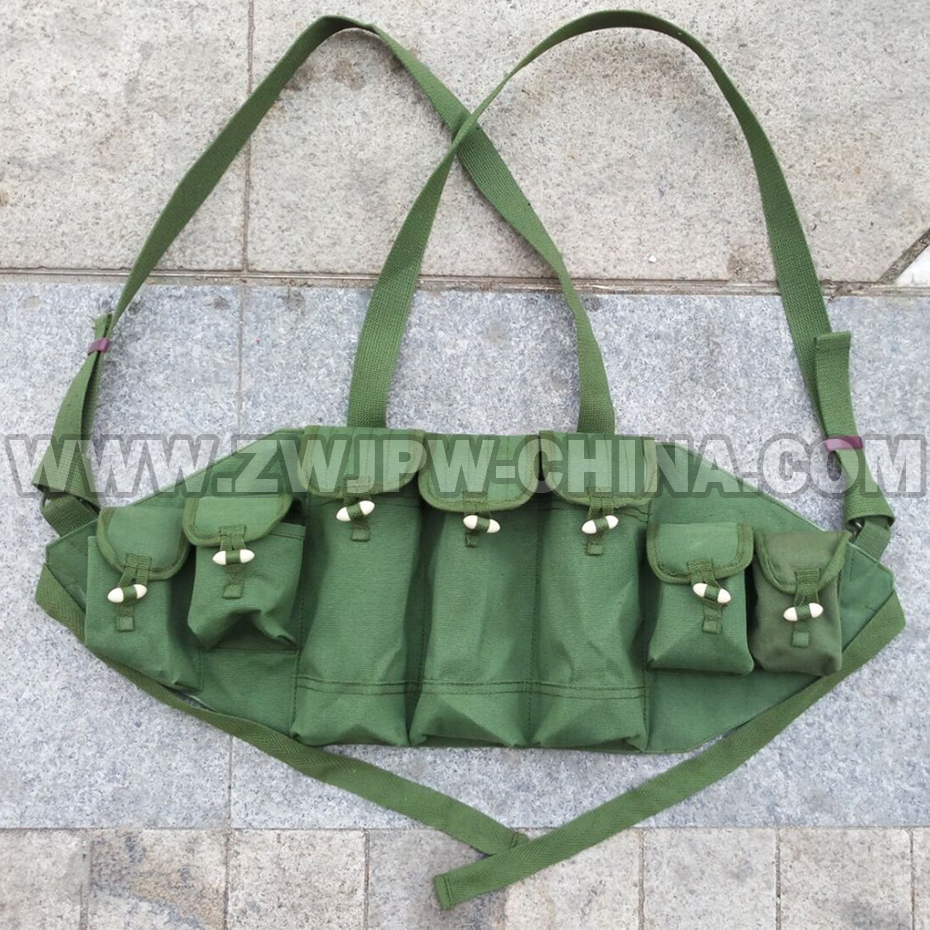 New Chinese Army Type Ak47/56Canvas Magazine Pouch Ammo Pouch    CN.AW/10123
