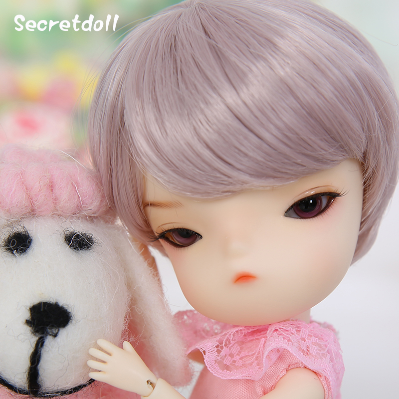 Free Face Make UP+Free Eyes 1//8 BJD Doll SD Doll Lati Yellow Happy