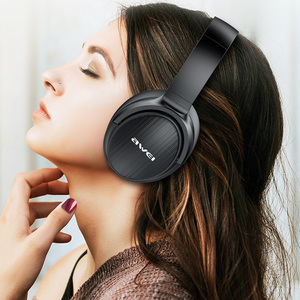 Image 5 - AWEI Budget Bluetooth V5.0 Gaming Kopfhörer Wired Wireless Stereo Freisprecheinrichtung AAC Noise Cancelling Mit Mic Support TFcard