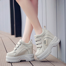 Fashion womens shoes 2019 spring new thick-soled old ins versatile increase sports