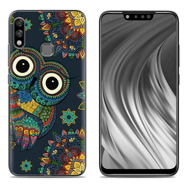 Shockproof Phone Case For Infinix Hot 7 Pro X625B 6.2-inch Fashion Design Cute Cartoon Painted TPU Silicone Soft Cover Cover