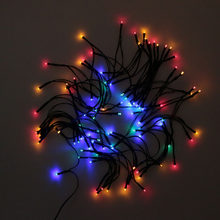 Hot 17M 100 LEDs Solar Power Fairy Lights Holiday Lighting Xmas Holiday Party Outdoor Garden Tree Decoration String Lamp(China)