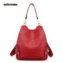 Модные кожаные рюкзак женщин сумки элегантный дизайн рюкзак для девочек школьные сумки молния Kanken кожаный рюкзак gw090