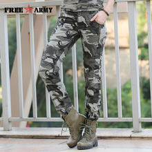 Women Casual Pants Summer Plus Size Jogger Pants Military Camouflage Women Pants Slim Fit Female Cotton Elegant Capris Gk-9522B