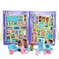 Образовательных Мини-Миниатюрная Мебель Toys Set Roll Play Игры Игрушки Куклы Девочки Мальчики Детские Дети Кукольный Домик Высококачественного Пластика