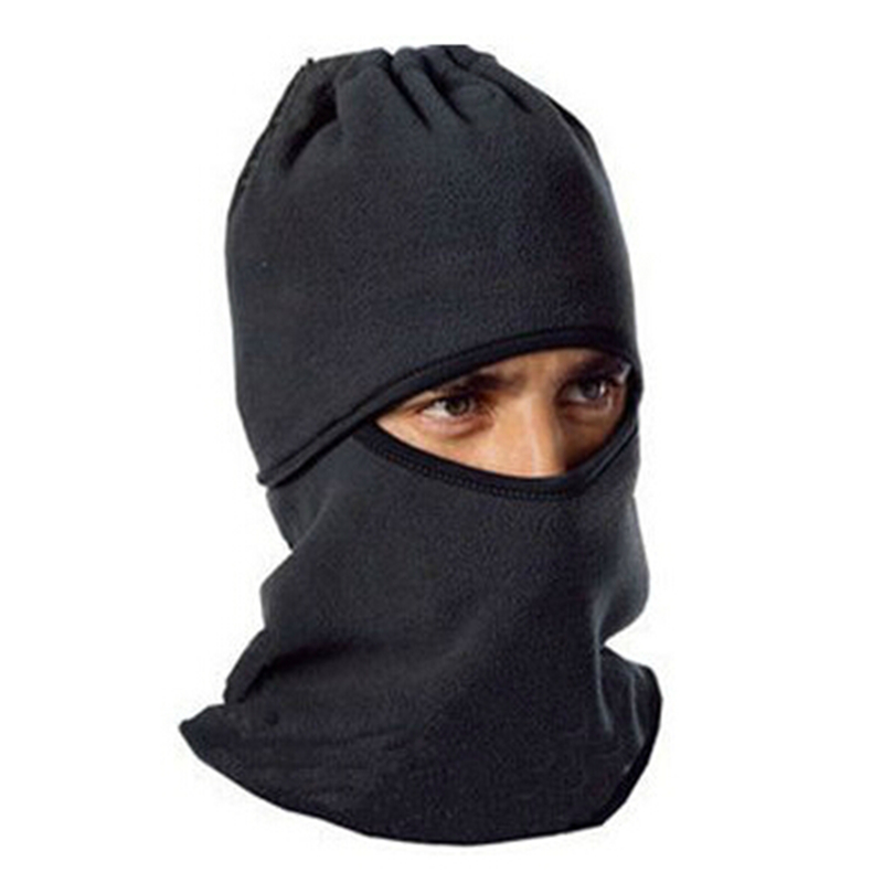 Cap Cycling Full-Face-Mask Winter Beanies Warm-Cap Ear-Scarf Skiing Thicken Outdoors