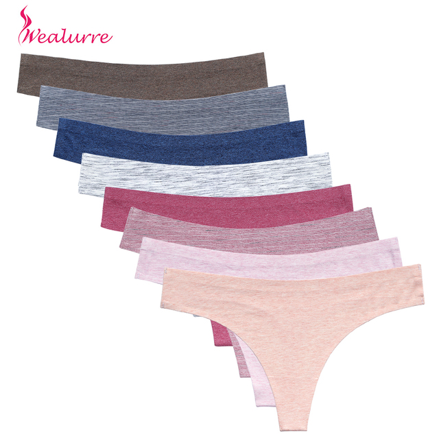 16 Colors Underwear Briefs Women Thongs G-String Cotton Spandex Panties Sexy Lingerie Tanga Ultrathin Seamless Panties