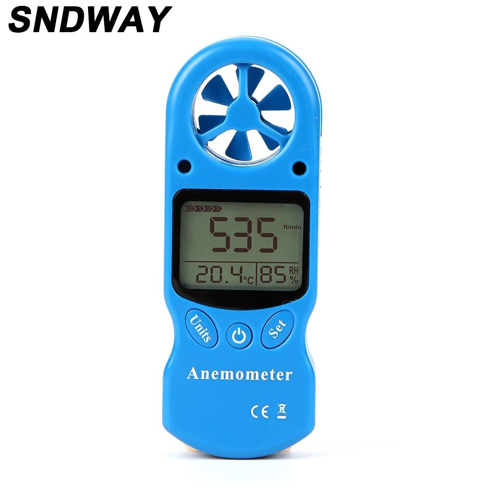 3 In1 Laser Tachometer Digital Wind Speed Meter Toerenteller Sensor Digitale Anemometer for Humidity and Temperature