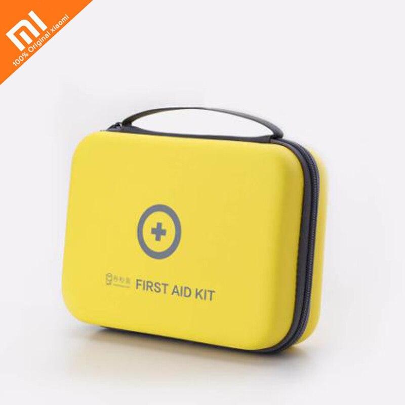 Nouveau xiaomi mijia médicaux à domicile kit PU étanche portable trousse de premiers soins portable secours médical paquet de voyage en plein air maison intelligente