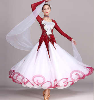 Standard Ballroom Dancing Dresses Adult New Style 5 Color Waltz Skirt High Quality Women Ballroom Competition Dance Dress - DISCOUNT ITEM  21% OFF All Category