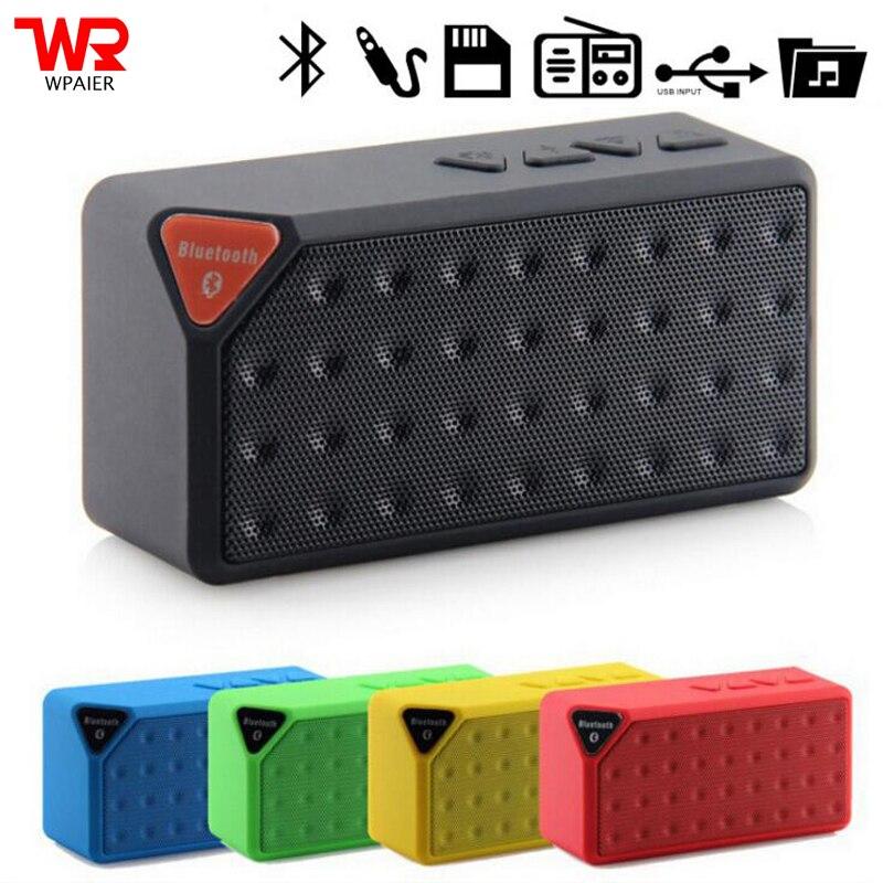WPAIRE X3 Sem Fio bluetooth speaker Water Cube mini speaker portátil sem fio bluetooth de áudio tipo Universal apoio TF/USB