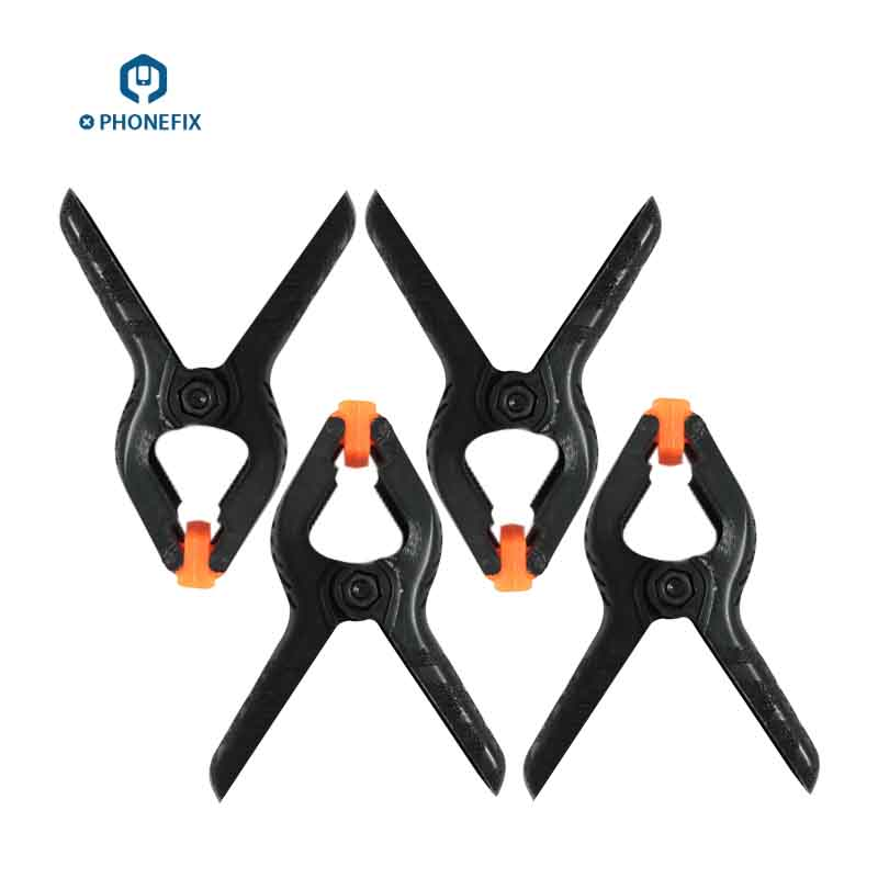 PHONEFIX Phone Screen Fastening Clamp Plastic Clip Fixture Holding Repair Tools for iPhone Repair Mobile Screen Repair Kit