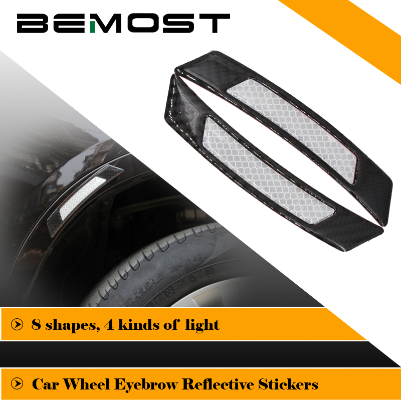 BEMOST Car Reflective Strip Safety Warning Car Styling Protector Stickers For <font><b>Mazda</b></font> 2 3 5 <font><b>6</b></font> 8 <font><b>Wagon</b></font> Hatchback CX-7 CX-5 Premacy image