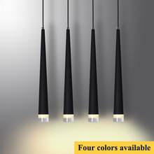 Modern Pendant Lights 3W LED Cone-shape Hanging Lamps for Restaurant/Living Room/Bar Lamparas Home Decoration Lighting Luminaire