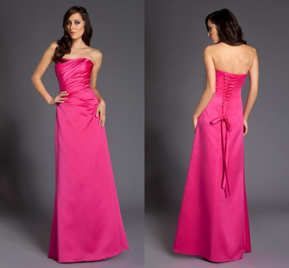 Hot Pink Wedding Dresses Plus Size - Short Hair Fashions