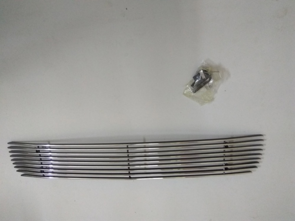 Fits FOR 2008 <font><b>2009</b></font> 2010 <font><b>Honda</b></font> <font><b>Accord</b></font> Silver Billet Grille Grill Bumper 1PC image