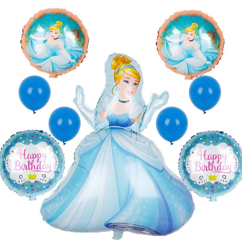 Event Party Prinses Sneeuwwitje Cinderella Ballonnen