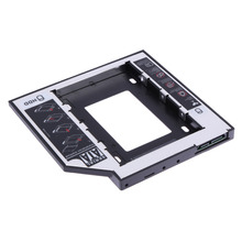 Hard Disk Drive Bay Universal 2.5 2nd 9.5mm Ssd Hd SATA Hard Disk Drive HDD Caddy Adapter Bay For Cd Dvd Rom Optical Bay