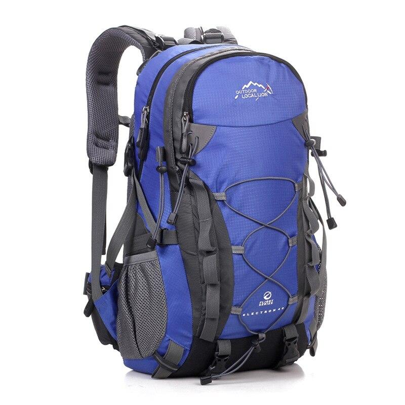 40L Unisex Bolsa de Deporte de Nylon Impermeable Mochila de Viaje Al Aire Libre
