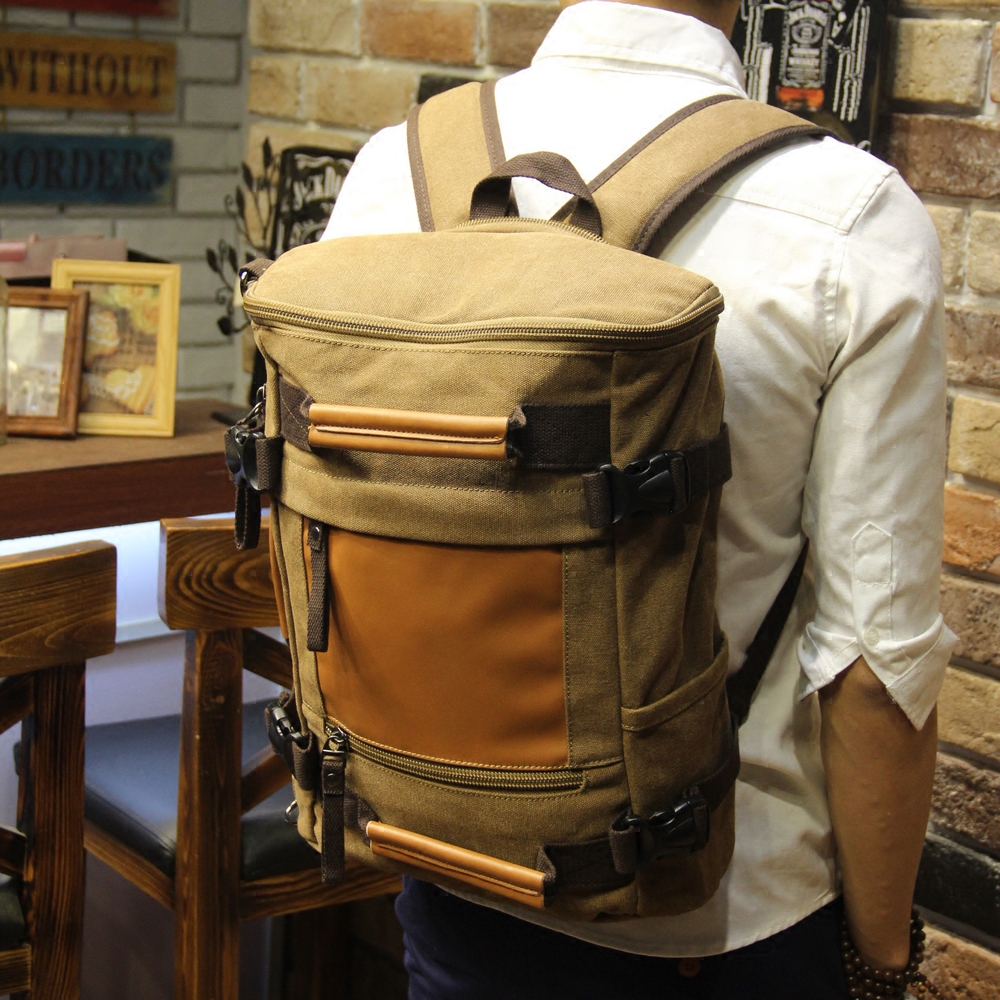 Brand Fashion Travel Large Capacity Backpack Male Messenger Shoulder Bag Computer Backpacking Men Multifunctional Versatile Bag купить