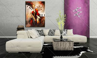 Sale Musical Instruments Abstract Oil Painting Service Bar Definition Artworks Painting Guitar Oil Painting Christmas Decoration