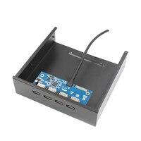 Desktop CD ROM Optical Drive 4port PCI E To USB3 0 Expansion Card VLI VL805