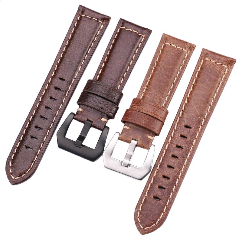 Чанти с ретро естествена кожа кафяви - Аксесоари за часовници - Снимка 2
