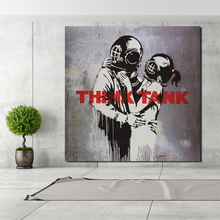 Embrace Love Banksy Canvas Painting Prints Wall Pictures For Living Room Home Decor Modern Art Oil Posters Picture