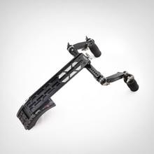 TT-0506 15mm/19mm mineração rig shoulder mount system com frente handgrip lidar com kit para Scarlet/RED ONE MX/AlEXA MINI câmera rig