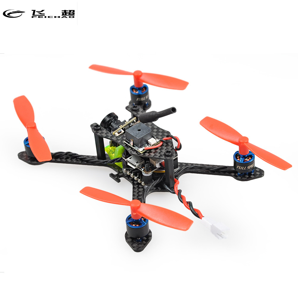 Feichao Bat-100 100MM Carbon Fiber DIY FPV Micro Brushless Racer Helicopter Drone BNF with Frsky/Flysky/DSM-X WFLY RX Receiver jmt bat 100 100mm carbon fiber diy fpv micro brushless racing airplane drone bnf with frsky flysky dsm x wfly rx receiver
