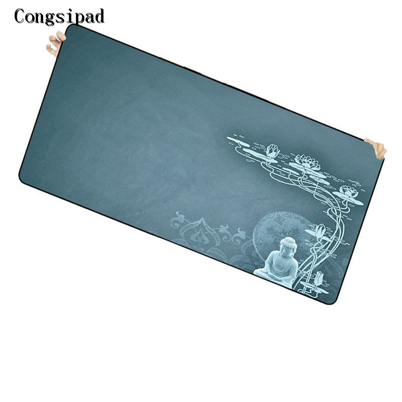 Congsipad Shop Thich Nhat Hanh Mouse Pad Gear Heroes Game Pad To Mouse for CSGO DOTA Computer Brand Gaming Mousepad Gamer Laptop image