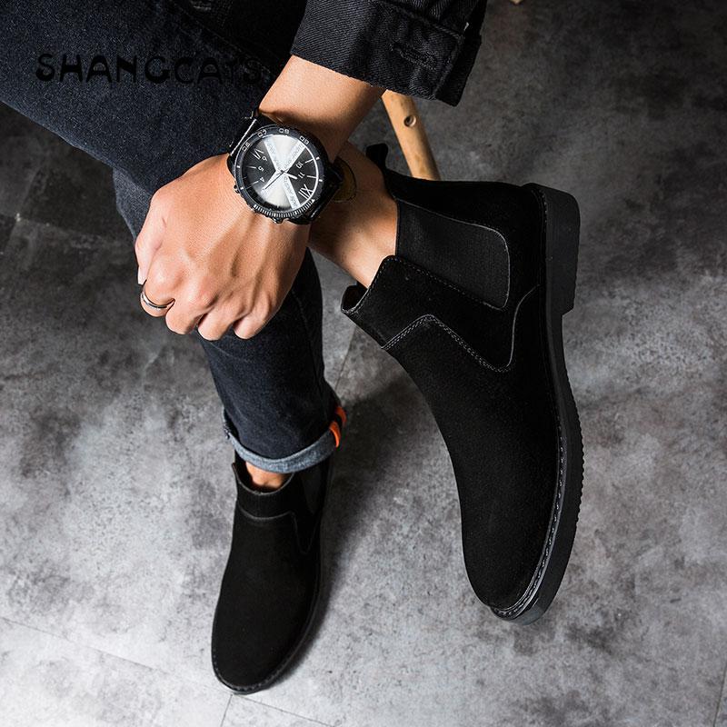 Dos Qualidade Homens brown Clássico Casual Moda Cor Cool 2018 Lace Inverno Black Sólida Vulcanize High Sapatos Cáqui Top Up gray De Alta ECUwqF