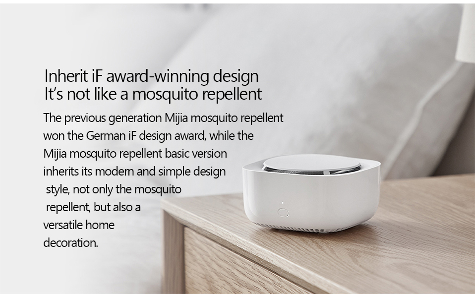 2019 New Xiaomi Mijia Mosquito Repellent Killer Smart Version Phone timer switch with LED light use 90 days Work in mihome AP (6)