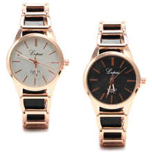 New Style Ladies's Stainless Metal Dial Quartz Bracelet Luxurious Girl Wrist Watch New