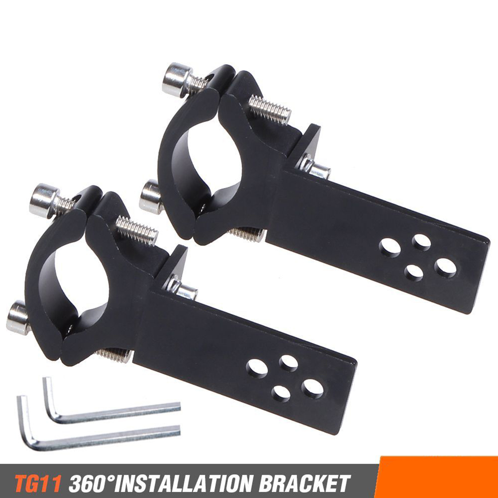 Universal Mount TG11/TG13 Motorcycle Headlight Bracket Tube Fork Spotlight Holder Clamp For Cafer Racer Chopper Ect