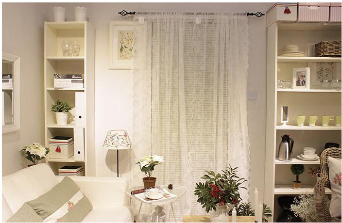Popular Window Lace Curtain-Buy Cheap Window Lace Curtain lots ...