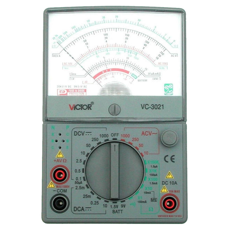 VICTOR VC3021 Analog Multimeters, Mechanical Multimeter, The New, Measurable все цены