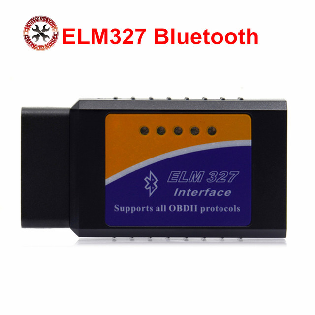 ELM327 bluetooth ELM 327 OBDII Diagnostic Interface OBD2 Auto Car Diagnostic Scanner for android torque software free shipping