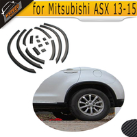car side Mudguard flares fender trim for Mitsubishi ASX 2013 2015