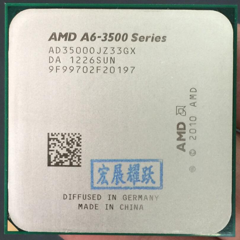 AMDAMD A4-Series A6-3500 A6 3500 CPU 100% Working Properly Desktop Processor 100% Working Properly Desktop Processor