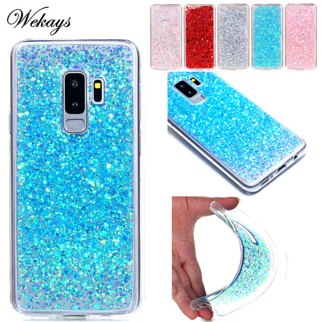 glitter samsung s9 plus case