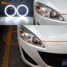 Для Mazda 5 Mazda 5 2012 2013 smd комплект светодиодов «глаза ангела» Дневной светильник отличное Ультра яркое освещение DRL