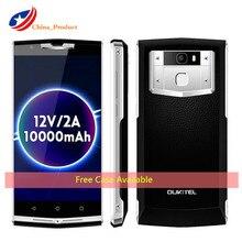 Oukitel K10000 PRO Mobile Phone 10000mAh 12V/2A Quick Charge 5.5 Inch FHD 3GB+32GB 13MP Fingerprint ID GLONASS 4G Lte Smartphone